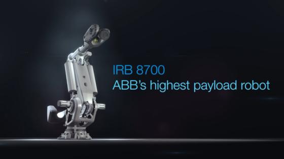 ABB IRB 8700系列產品介紹