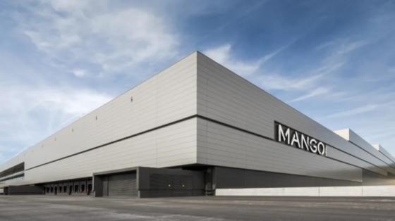 世界知名时装品牌Mango的高度自动化物流中心