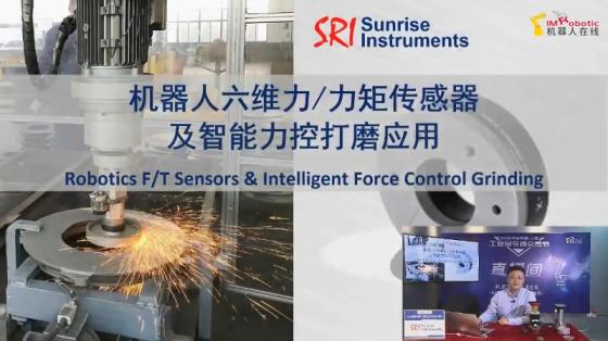 【直播回顾】宇立|机器人六维力/力矩传感器及智能力控打磨应用(上篇)