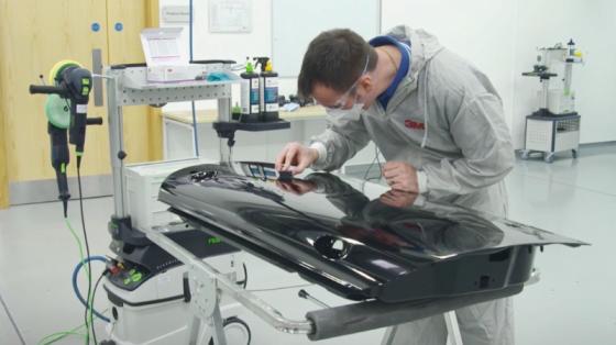 汽车工业_3M机器人自动化漆面修复系统