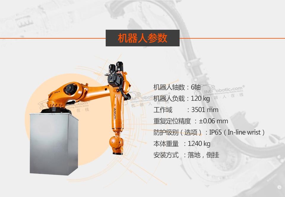 KR 120 R3500 press