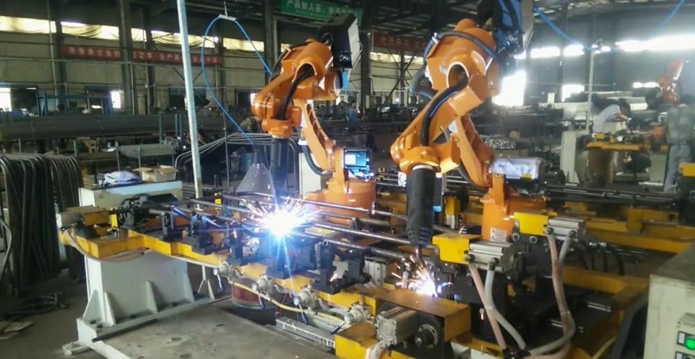 焊接机器人视频