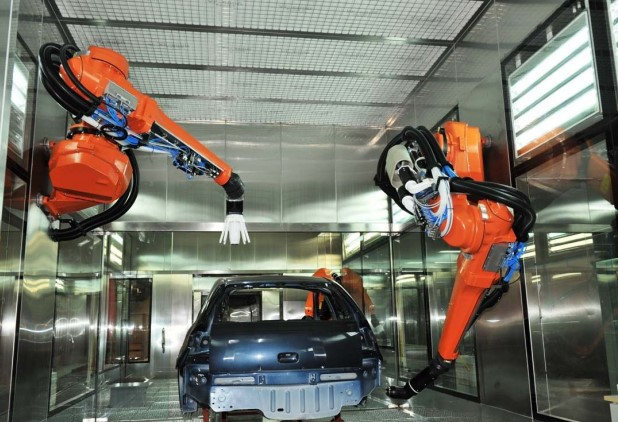 六轴喷涂机器人