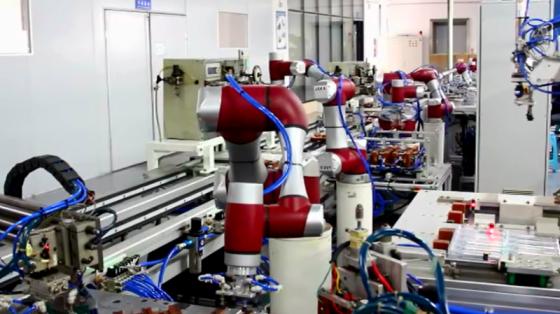 金属加工/3C/家电行业_检测/测烫/贴胶/激光焊接_节卡协作机器人